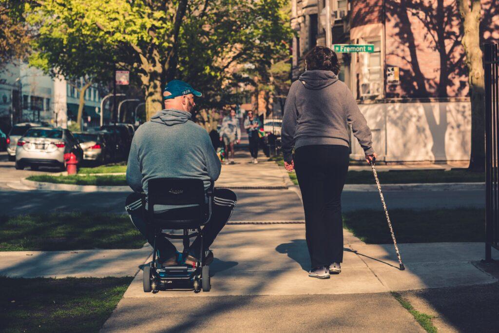 Les personnes handicapées dans le contexte de la crise climatique
